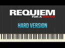 Clint Mansell - Requiem For a Dream [Hard Version] (Piano Tutorial Synthesia)