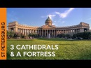 Kazan Cathedral Peter and Paul Fortress St Isaac's Cathedral ST PETERSBURG Russia Vlog 4