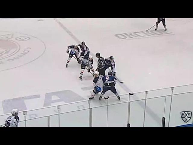 Моменты из матчей КХЛ сезона 16/17 • Удаление. Безина Горан (Медвешчак) удален на 2 минуты за задержку руками 22.11