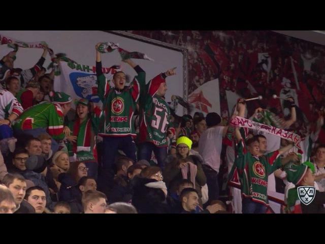Моменты из матчей КХЛ сезона 16/17 • Гол. 0:2. Йордан Михал (Ак Барс) увеличивает преимущество в счете, забросив шайбу в пустые