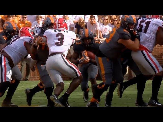Georgia Bulldogs vs Tennessee Volunteers Full Game Highlights / CFB Week 5