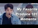 My Favoitre Produce 101 Season 2 moments ep 0-11