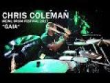 Meinl Drum Festival  Chris Coleman GAIA
