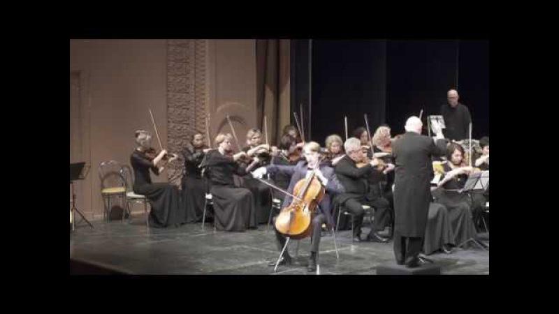 К.Сен-Санс. Концерт №1 для виолончели с оркестром.