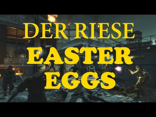 Call of duty black ops 1 Der Riese Easter Eggs *ALL*