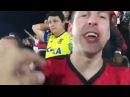Argentino torcedor do Independiente vai ao jogo do Flamengo na Ilha: A melhor torcida é aqui