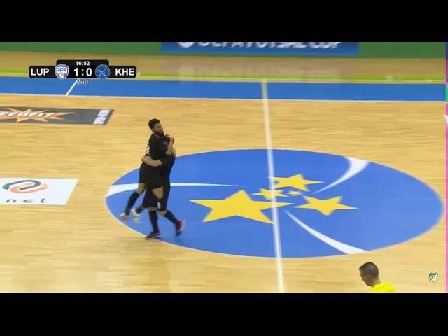 Luparense 3 x 1 MFC Kherson UEFA FUTSAL CUP