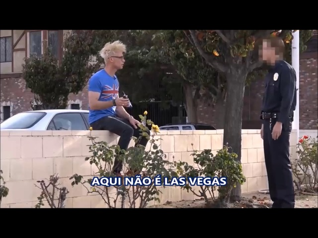 Pegadinha Escapando da Polícia Fazendo Mágica 2, ESCAPING FROM COPS USING MAGIC 2(Tradução Port..)