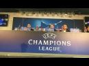 Пресс конференция М Карреры после игры с Марибором