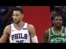 Kyrie Irving vs Ben Simmons PG Duel Highlights 2017 10 06 Celtics vs Sixers