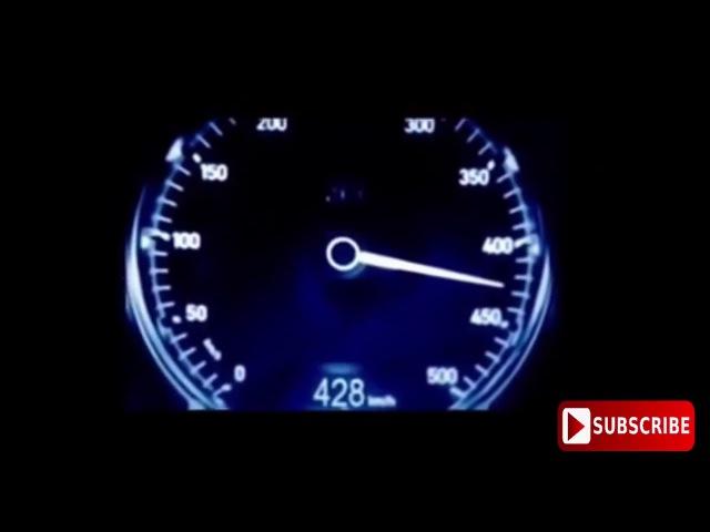 Bugatti Chiron 2017 Максимальная скорость 0 500 км