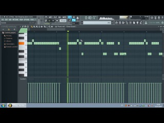 LIL PEEP - Star Shopping (piano cover in FL Studio) + FLP download, notes, tabs, chords, midi