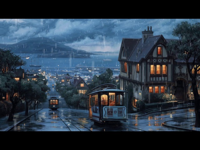 RAINING IN CITY | CHILLOUT | LOFI | AMBIENT | Music by FGH