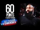 James Harden HiSTORIC 60 Pts, 11 Asts, 10 Reb TD 2018.01.30 vs Magic - Career-HIGH! | FreeDawkins