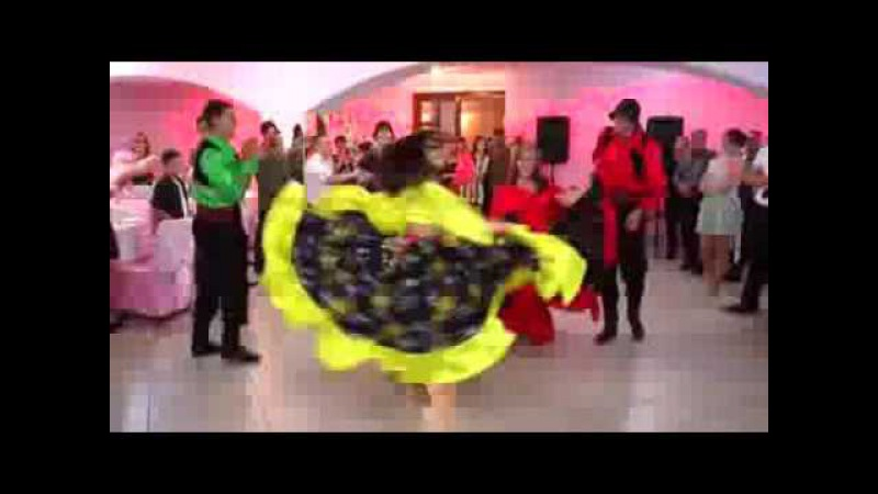 Молдавская свадьба 2 Цыганский танец