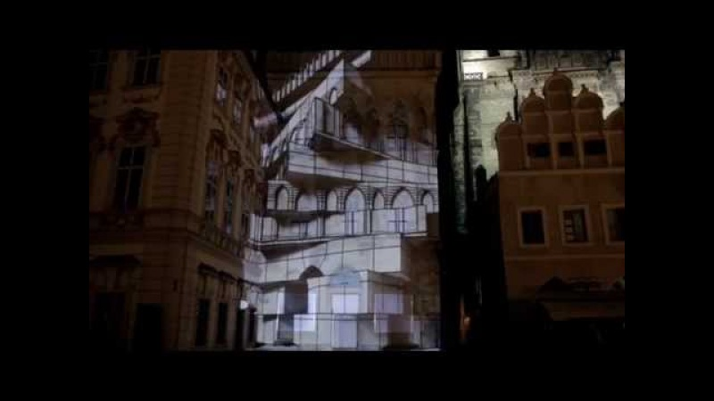 Winds of Sorrow Khojaly 3D Projection Mapping in Prague 26 02 2015