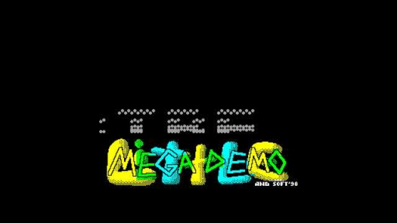 Little Megademo AND Soft noflic zx spectrum AY Music Demo