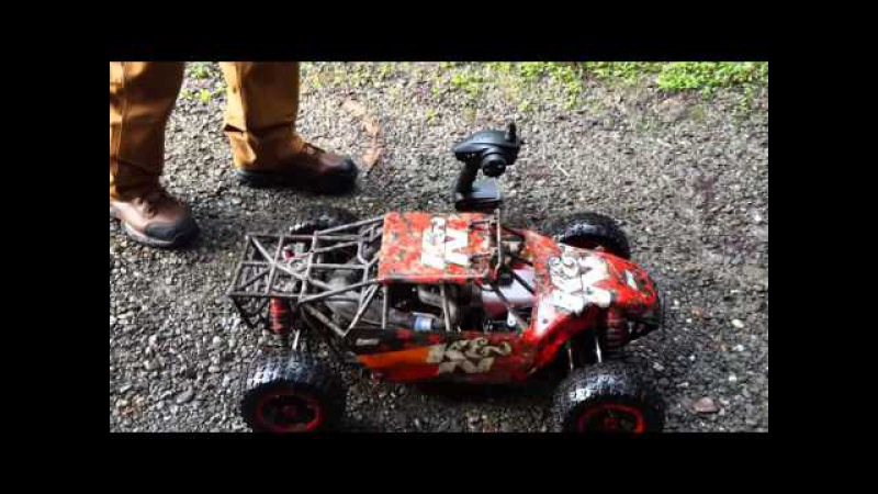 Losi desert buggy KN version... little run into the redwoods