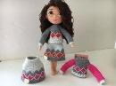 Como tejer sueter de mini Carolina amigurumis by Petus TERCERA PARTE