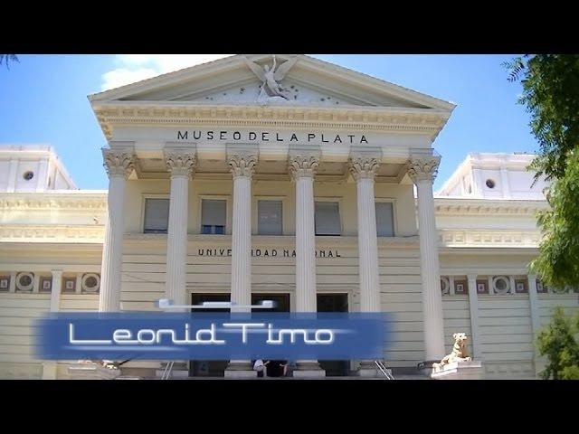 Аргентина. Музей Ла-Платы - один из самых впечатляющих музеев естествознания в мире.