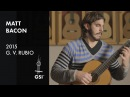 Mallorca Matt Bacon plays G V Rubio 'Estudio 640'
