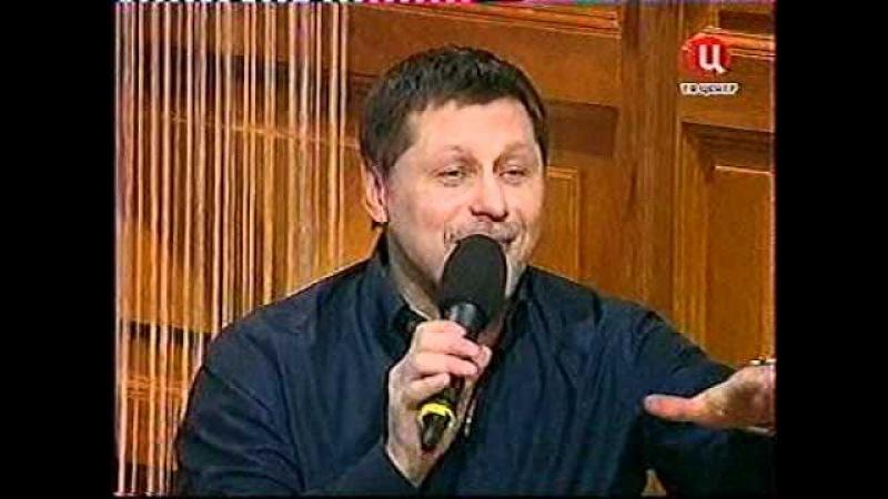 ГедиминасТаранда и Николай Цискаридзе в передаче Приют комедиантов 7 03 2011