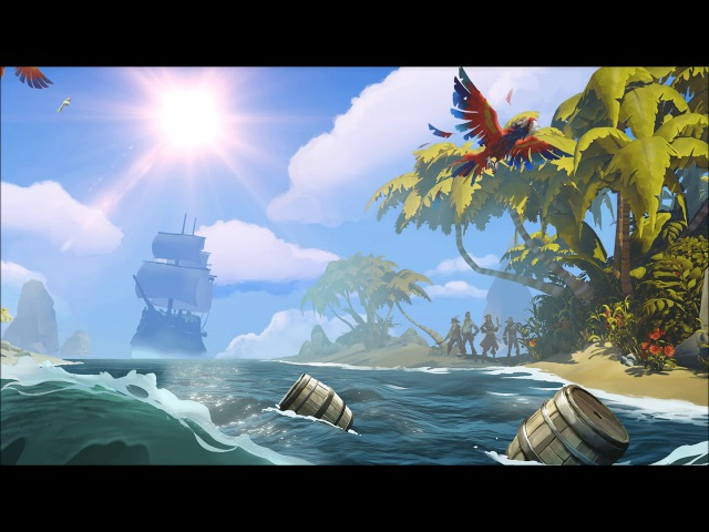 Sea of Thieves Becalmed Hurdy Gurdy Instrument Soundtrack