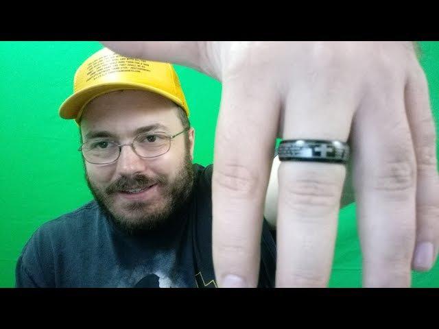Denvosi Tungsten Carbide Ring for Men 8mm Cross The Lord's Prayer Black Wedding Band Ring Comfort Fi