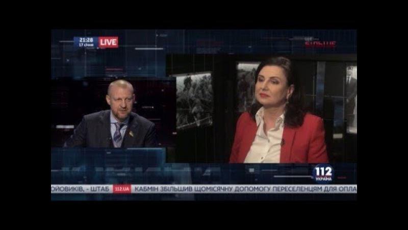 Инна Богословская и Андрей Тетерук на 112 Украина 17 01 2018
