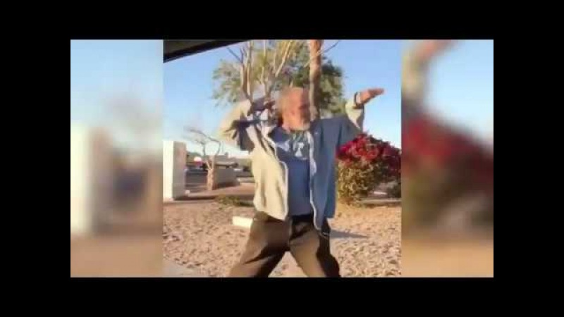 Homeless Man Dancing To Rich The Kid