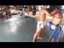 Видеообзор БУЛАТ (РОССИЯ) Muay Thai: Работа на падах