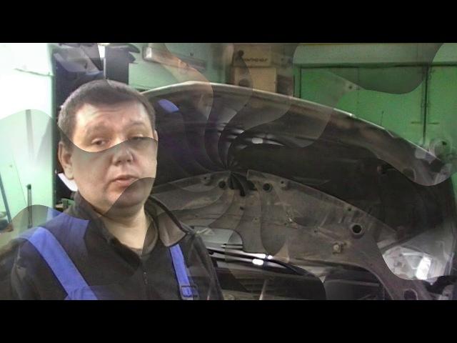 Cadillac SRX 2011 замена штатных блоков ксенон на универсальные