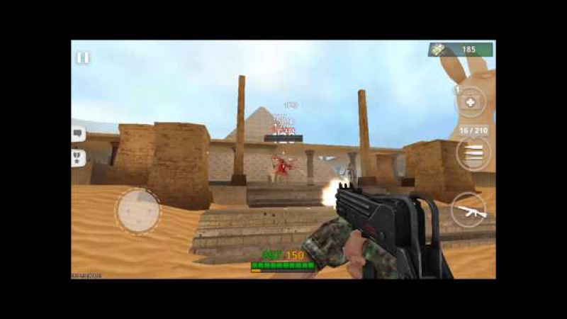 ONLINE STRIKE Multiplayer Shooter FPS android game first look gameplay español