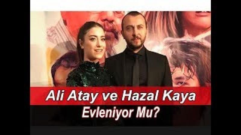 Ali Atay ve Hazal Kaya Evleniyor Mu | Röportaj