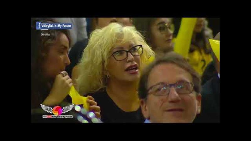HD Modena vs Civitanova 06 11 2017 Coppa Italia A1 Volleyball 2017 2018
