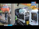 Водитель «Тойоты» погиб в ДТП с грузовиком в Иркутске, «Вести-Иркутск»