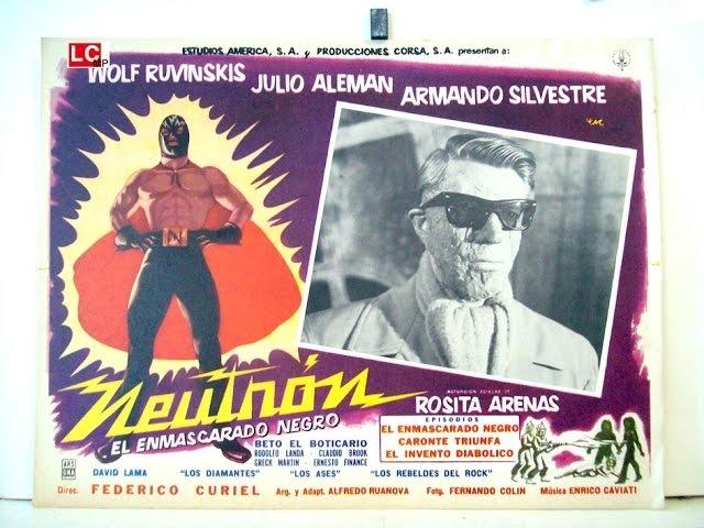 1960 NEUTRON EL ENMASCARADO NEGRO
