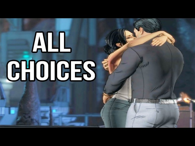 Batman Telltale Season 2 Episode 3 - All Choices/ Alternative Choices and Endings