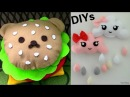 DIY Room Decors DIY Rilakkuma Scatter Hamburger Pillow Hanging Wall Clouds Pillow