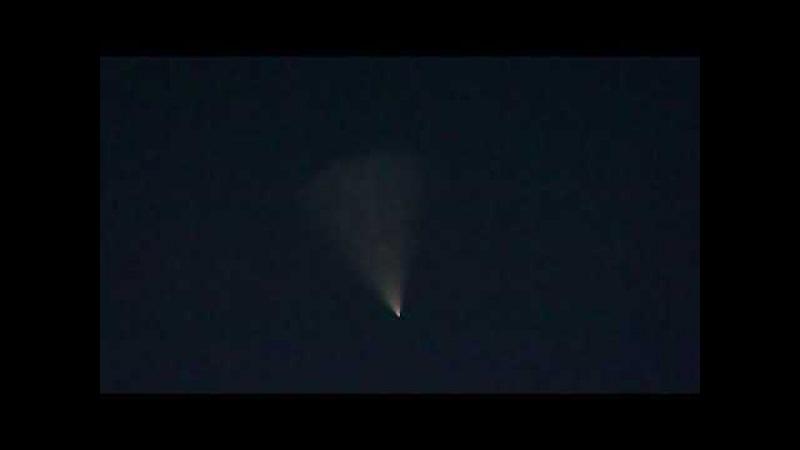 Неведанное явление в небе. Запуск ракеты?НЛО? 26.07.17г с.Приютное