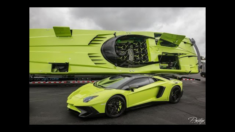 Aventador LP750 4 Superveloce Roadster Lamborghini Aventador SV Speedboat Angry BEAST