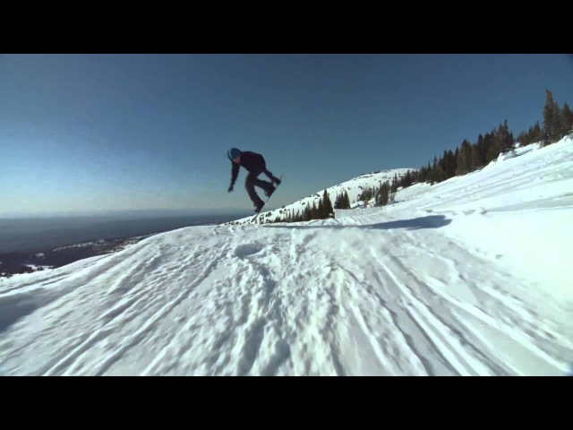 It Only Took Three Snowboarding Followcam - Peace Park 2015