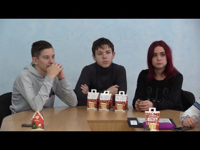 В Лисичанском НПК Гарант старшеклассники представили свои бизнес-планы