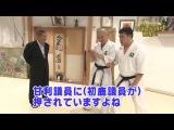 Такеси Китано знакомится с принципами Айкидо (Takeshi Kitano acquainted with principles of aikido)