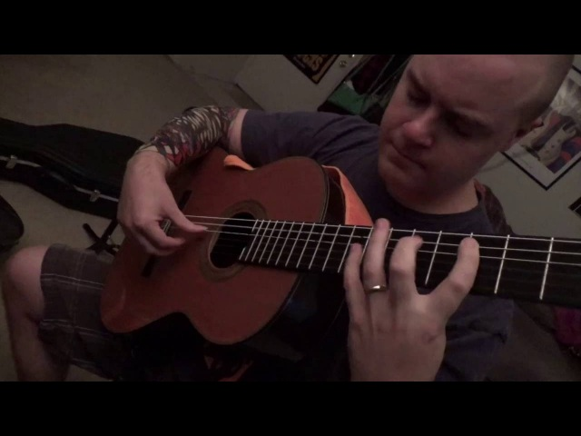Floods Outro Cover on Classical Guitar