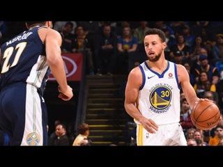 Denver Nuggets vs GS Warriors - Full Game Highlights   Jan 8, 2018   NBA Season 2017-18