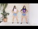 Зажигательный танец близняшек. Made with VivaVideo