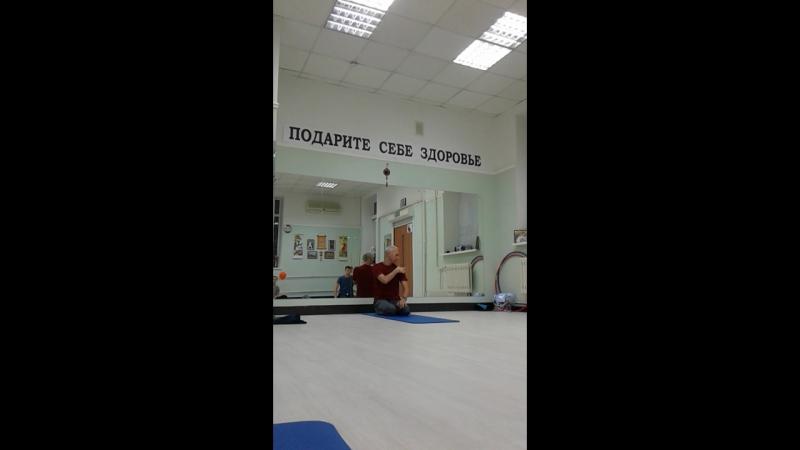 Йогатерапия. Мышцы плеч.