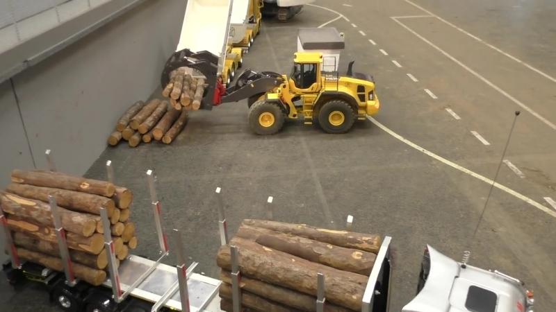 Construction Special ! RC Trucks, Excavator Wheel loader Action! Wels 2017