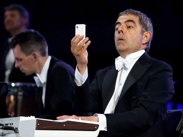 Mr. Bean play piano Мистер Бин на церемонии открытия Олимпийских игр в Лондоне